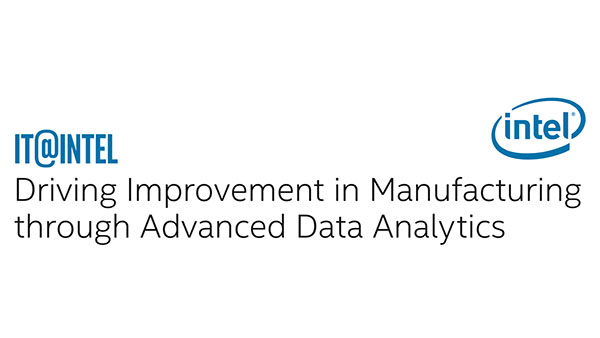 Improving Manufacturing with Advanced Data Analytics