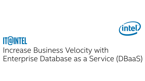 Increase Business Velocity with Enterprise DBaaS