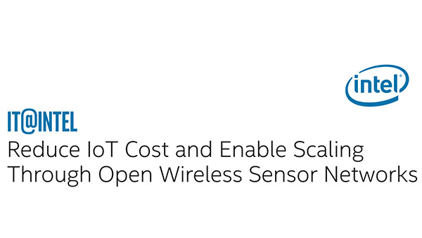 IT Best Practices: Reduce IoT Cost with Wireless Sensor Networks