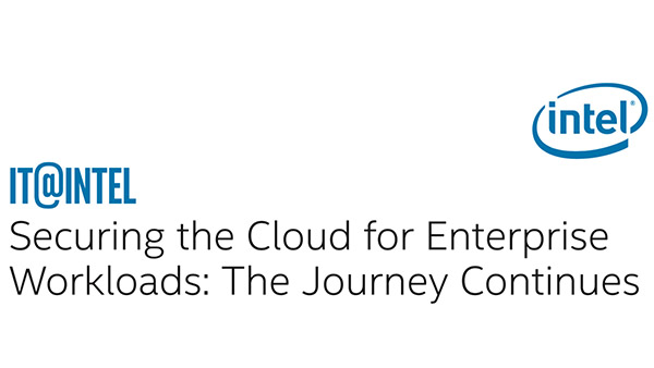 Securing the Cloud for Enterprise Workloads: The Journey Continues